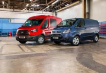 Ford Transit and Transit Custom