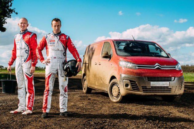 Meeke and Nagle with the Citroen Dispatch