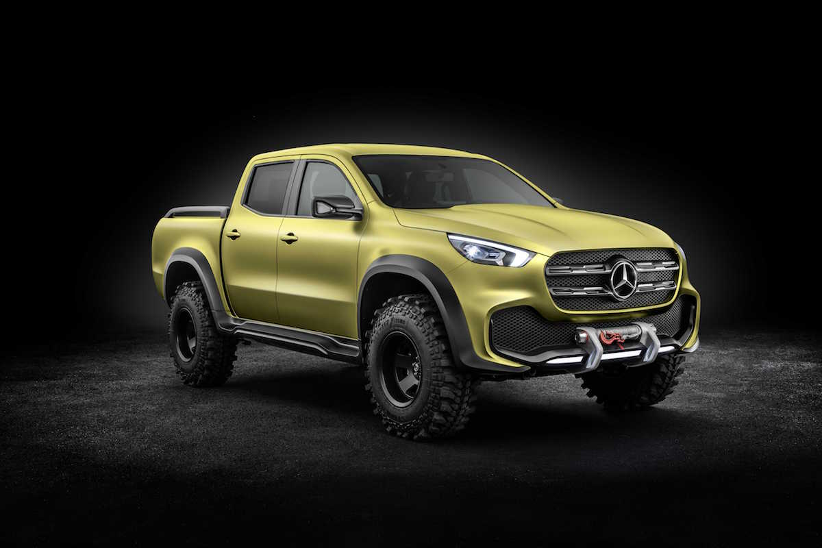 Mercedes-Benz X-Class 'Powerful Adventurer' concept