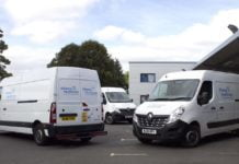 Renault Master panel van for Alliance Healthcare