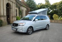 SsangYong Turismo Tourist campervan 01