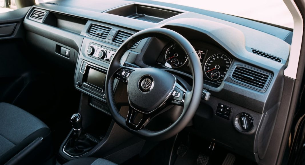Volkswagen Caddy Black Edition interior