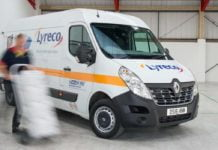 Renault Master panel van for Lyreco