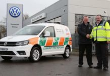 Volkswagen Caddy first response vehicle