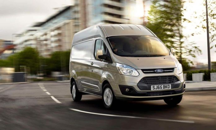 Ford Transit Custom was the most-registered LCV in February 2017.