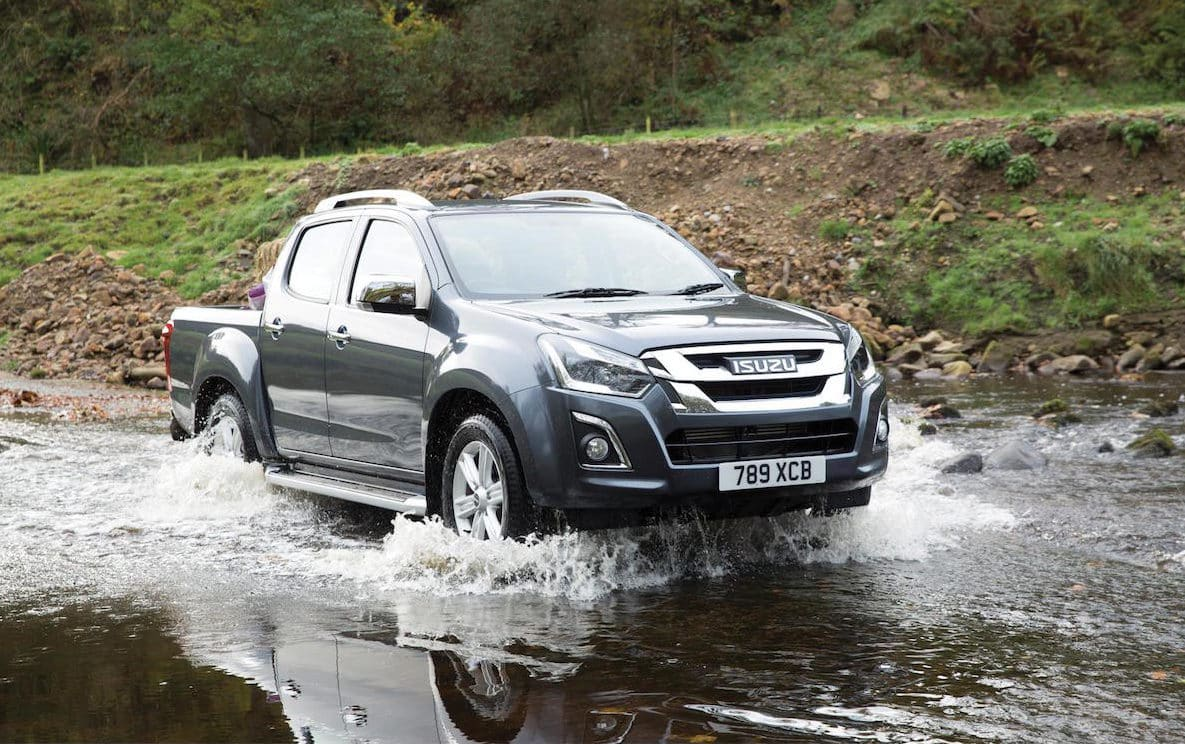 The new generation D-Max will be available to buy in the Spring