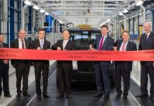 London Taxi company opens new factory in Ansty, Coventry