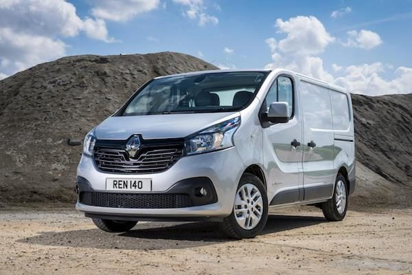 Renault Trafic, which is the same as the...