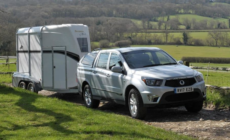 The Vehicle Certification Agency has approved the SsangYongs 3.5-tonne towing capability