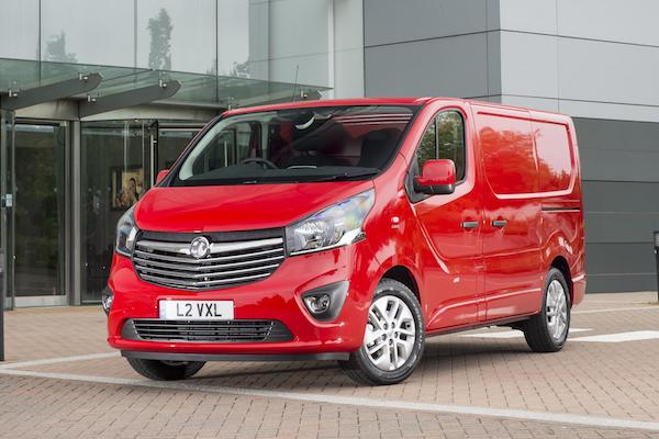 ... Vauxhall Vivaro, and the...