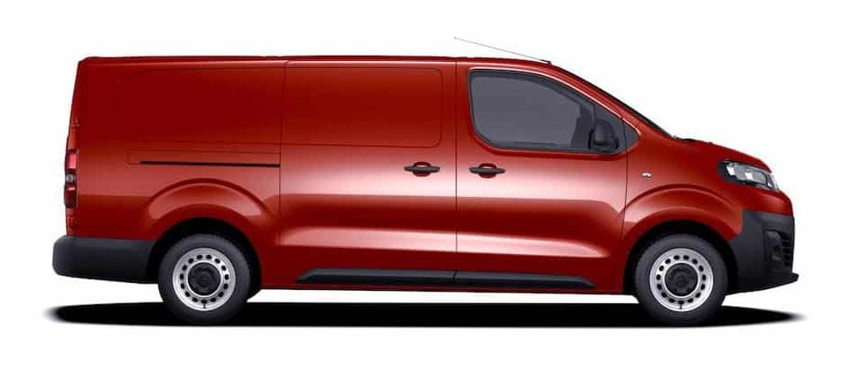 Citroen Dispatch XL longer wheelbase model the CV Show 2017 (The Van Expert)