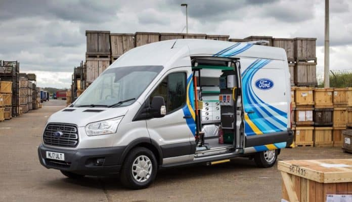 Ford Mobile Service programme set for nationwide launch at CV Show 2017 (The Van Expert)