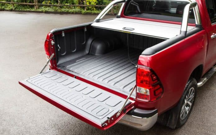 Toyota Hilux tray