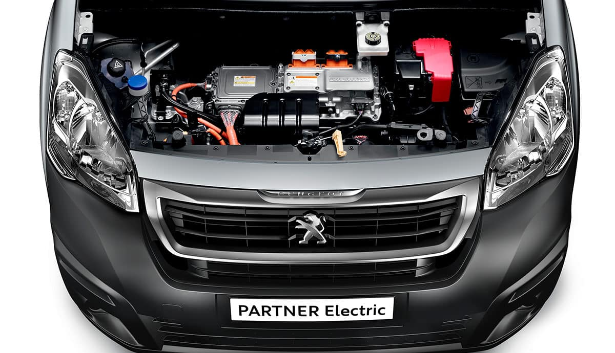 Peugeot Partner electric power unit