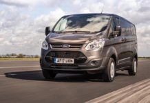 Ford Transit Custom remains most popular LCV