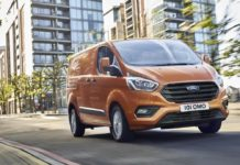 Ford Transit Custom facelift (The Van Expert)
