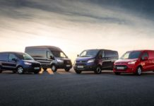 Ford Transit Custom was most popular LCV in June