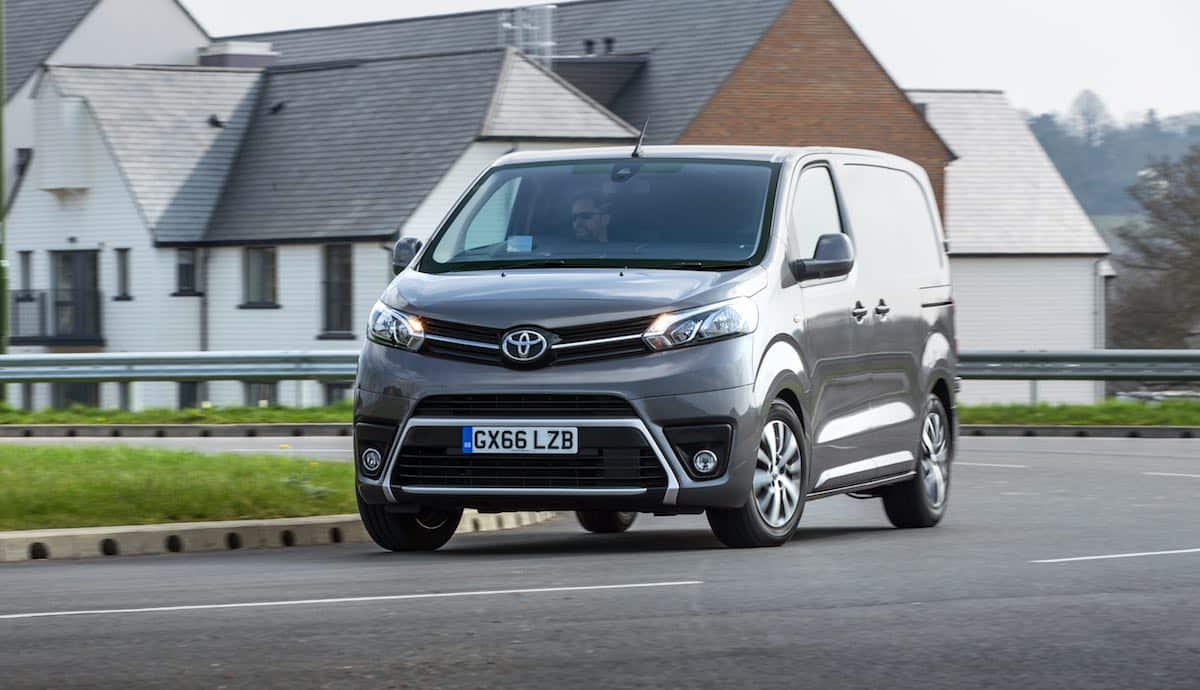Toyota's scrappage scheme includes the Proace van