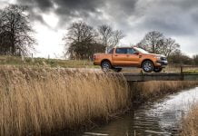 Ford Ranger pops into the top ten best sellers, LCV market September 2017