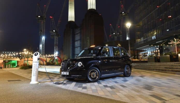 London Electric Vehicle Company TX electric taxi