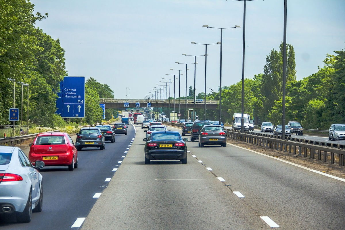 Stay safe on the UK motorways with tips from The Van Expert