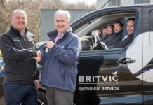 Toyota Proace Britvic press release