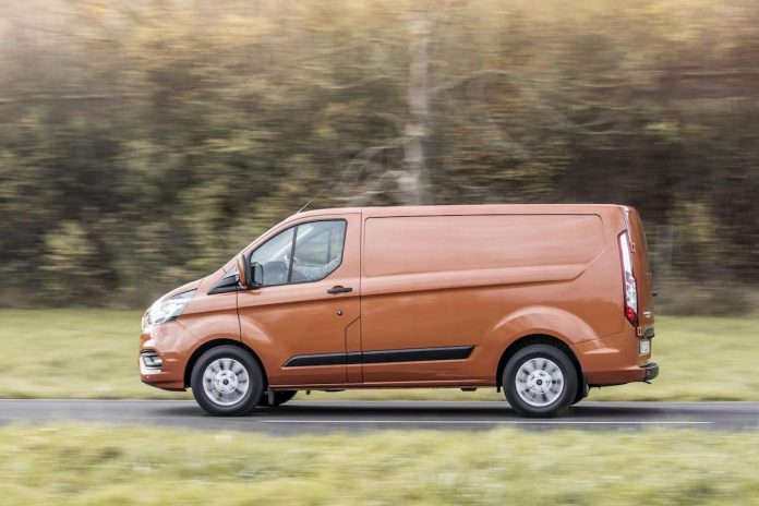 Ford Transit Custom August 2018