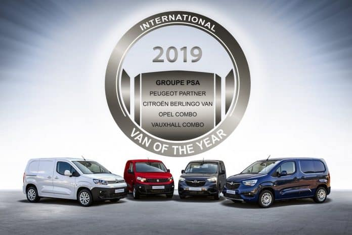 PSA Group compact van wins IVOTY 2019