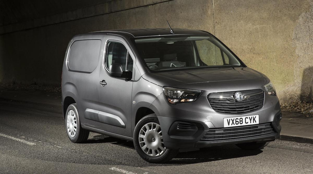 The all-new Vauxhall Combo, joint winner of the 2018 International Van of the Year award