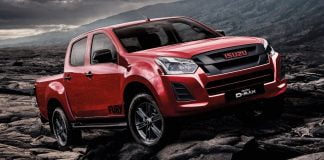 Isuzu D-Max Fury limited edition available January 2019
