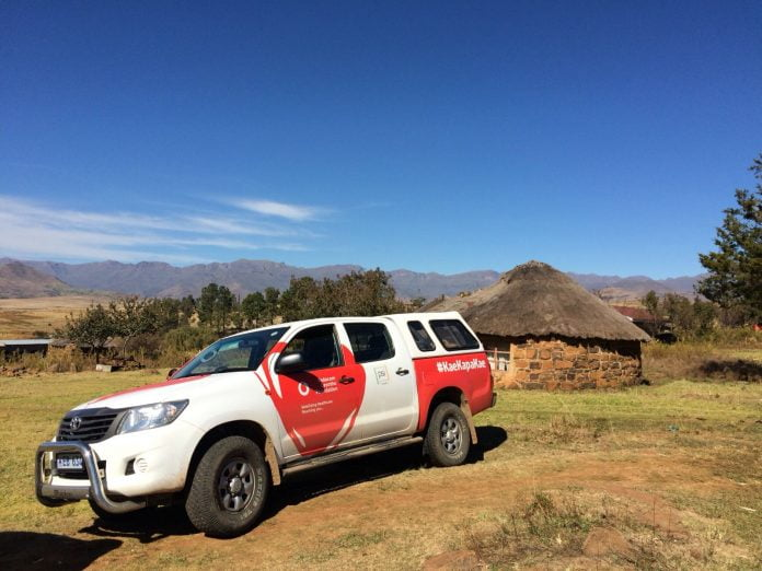 Toyota Hilux for Vodafone Foundation