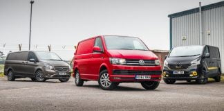 Volkswagen Transporter vs Renault Trafic vs Mercedes-benz Sprinter triple test | The Van Expert