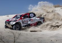 Toyota Hilux for 2019 Dakar Rally
