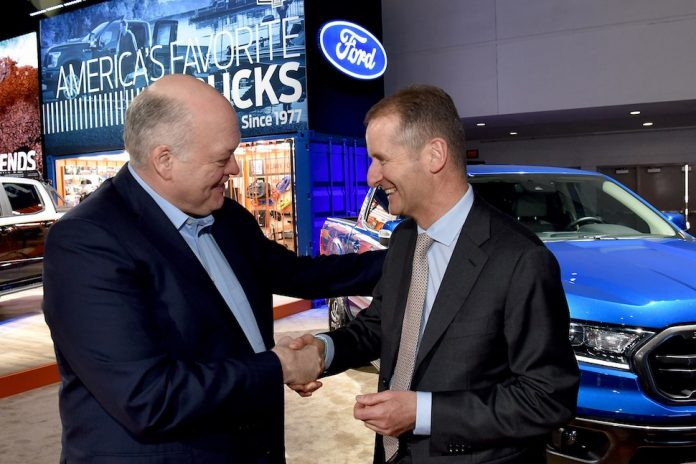 Ford and Volkswagen announce alliance to develop new LCVs