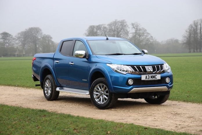 Mitsubishi L200 pick-up - February 2019