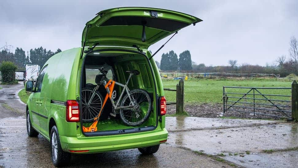 Volkswagen Caddy review load space