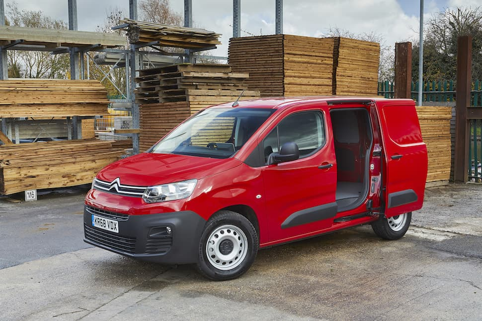 Citroën Berlingo review - front 2 | The Van Expert