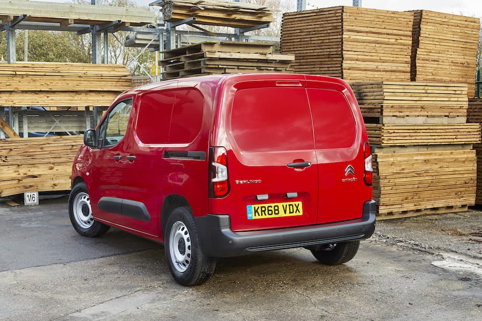 Citroën Berlingo review - rear 1 | The Van Expert