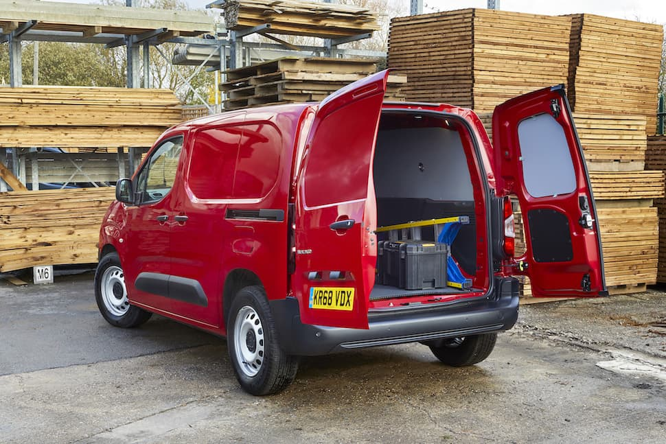 Citroën Berlingo review - rear 2 | The Van Expert