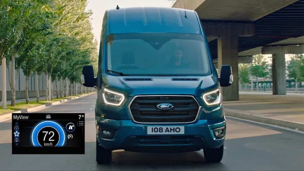 Ford Transit with new Ford EcoGuide navigation technology | The Van Expert