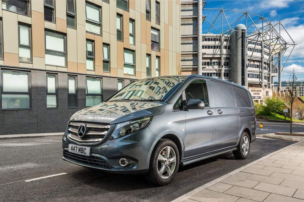 Mercedes-Benz Vito panel van update 2019