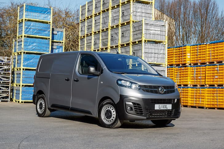 2020 Vauxhall Vivaro review - front | The Van Expert