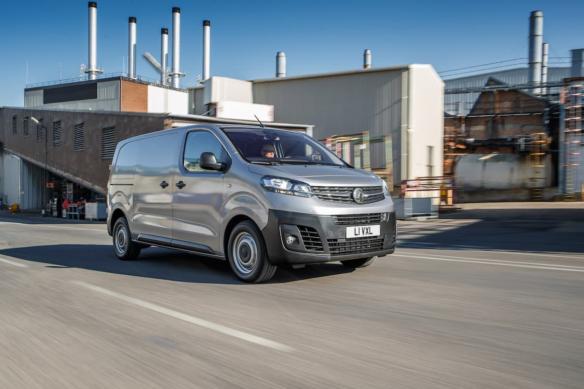 2020 Vauxhall Vivaro road test - front | The Van Expert