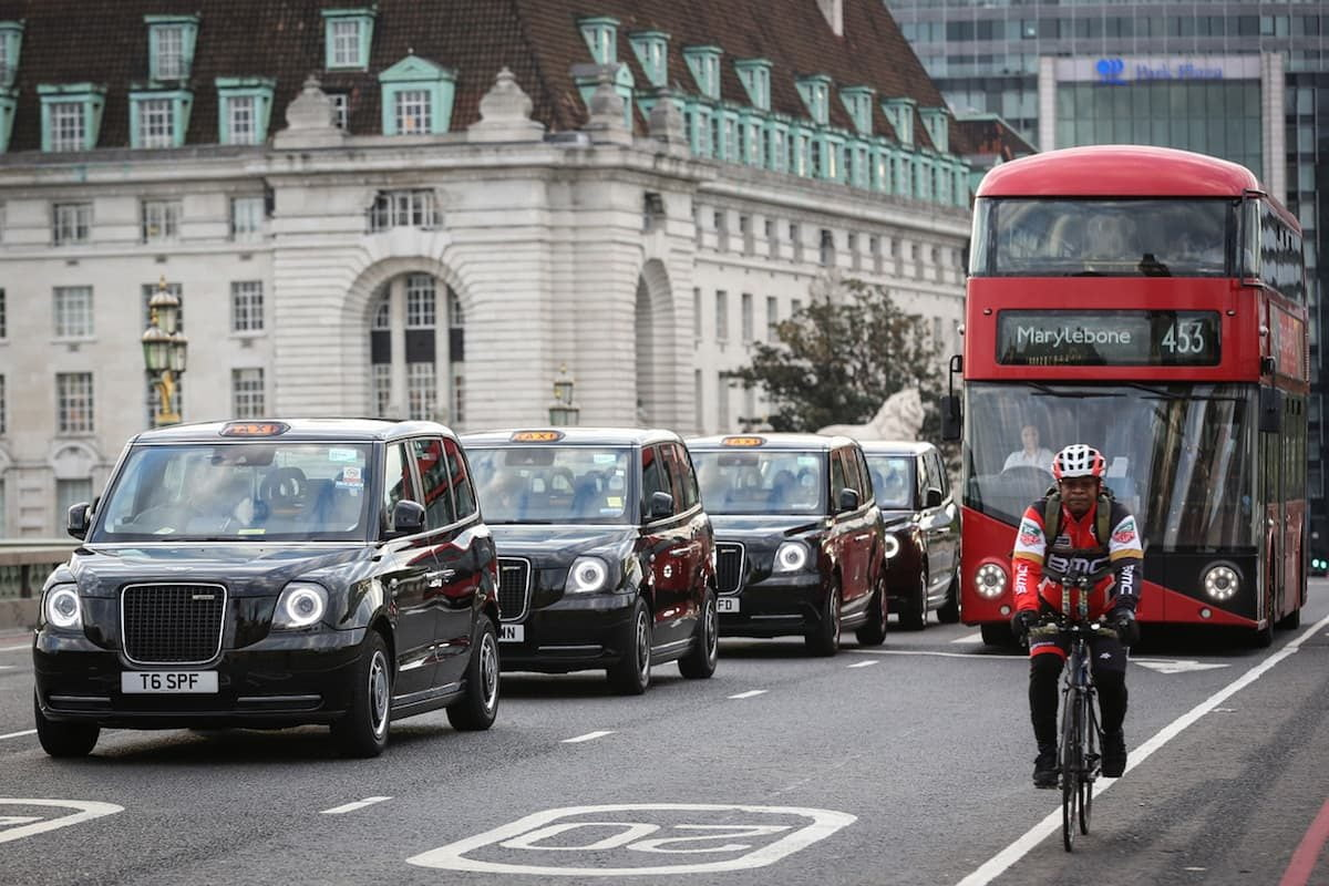 Electric taxis in London | The Van Expert