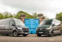 Twin test: Mercedes-Benz Sprinter vs. Volkswagen Crafter