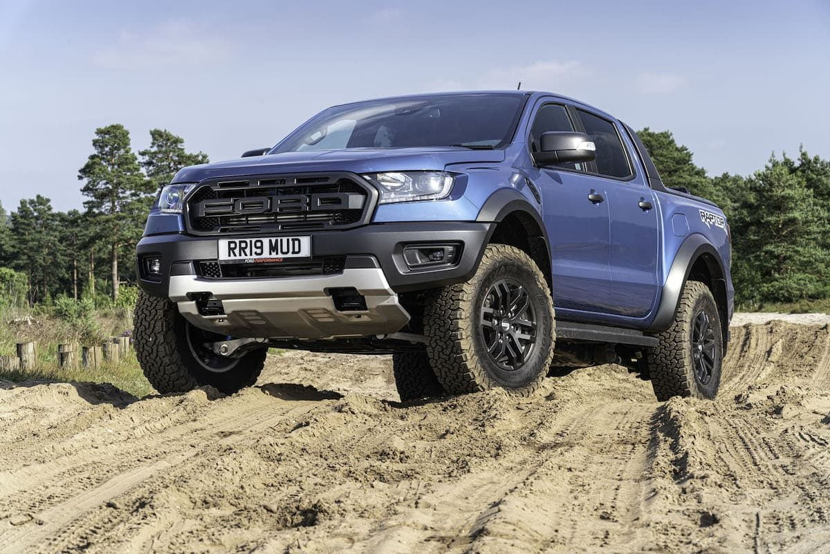 Ford Ranger Raptor review 2019 - front view | The Van Expert
