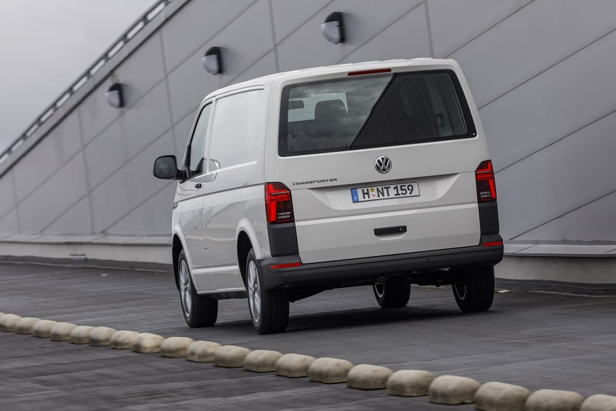 Volkswagen Transporter 6.1 - rear view | The Van Expert