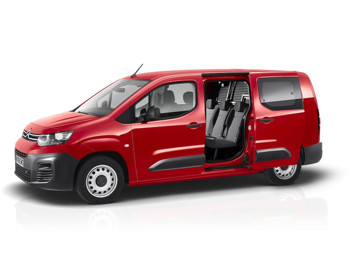 Citroën Berlingo crew van | The Van Expert